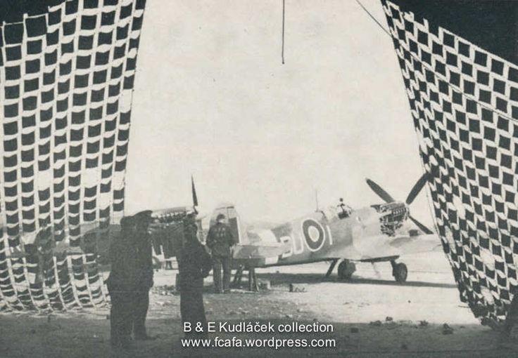 Supermarine Spitfire Mk.IX, DU-I, No. 312 Squadron, probably at Appeldram, shortly before D-Day.