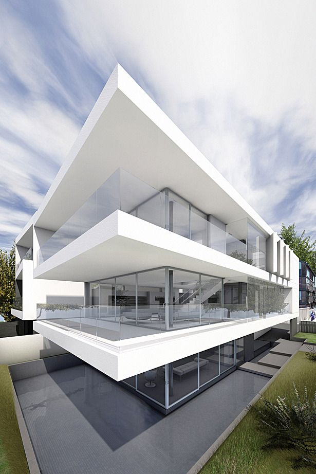 459 best images about minimalist house on pinterest for Minimalist residential architecture