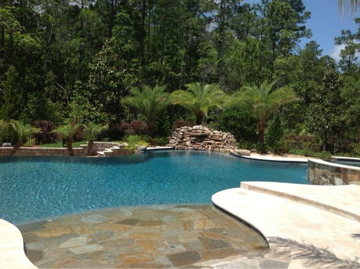 Backyard Paradise. Pool IdeasPatio IdeasBackyard IdeasBackyard ...