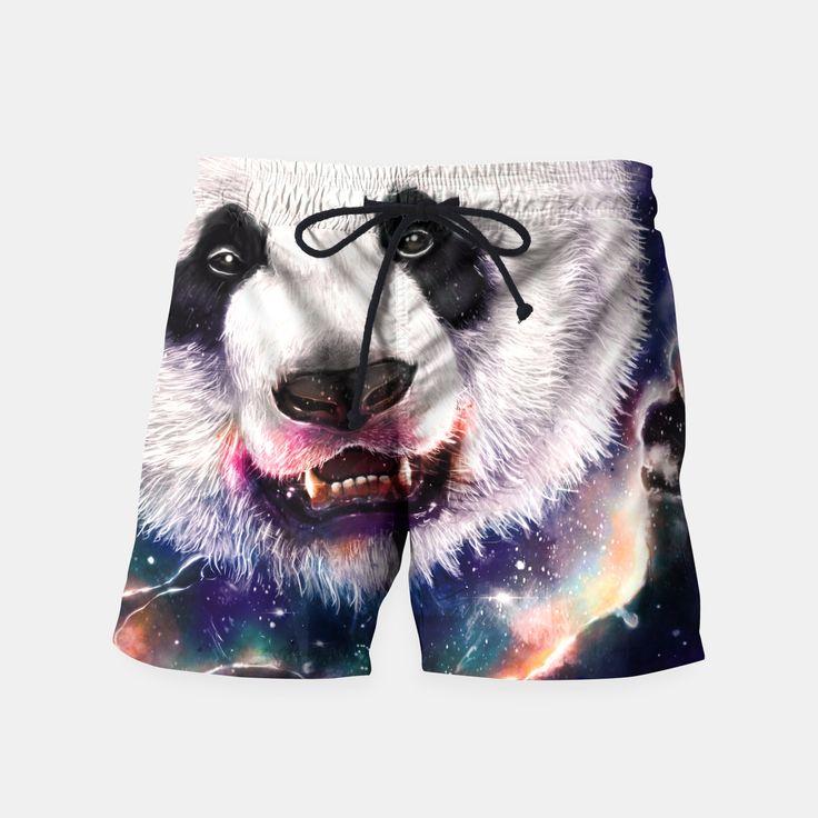 Nebula Eater Swim Shorts by Nicebleed 20.95€ #nebula #panda #space