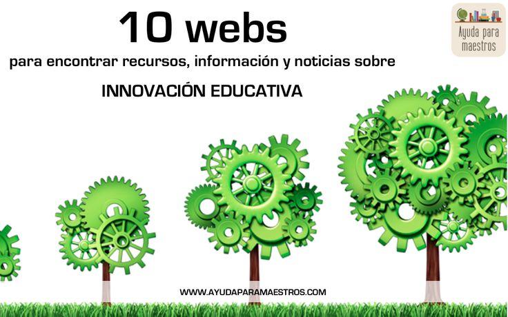 AYUDA PARA MAESTROS: 10 webs para encontrar recursos, información y noticias sobre innovación educativa