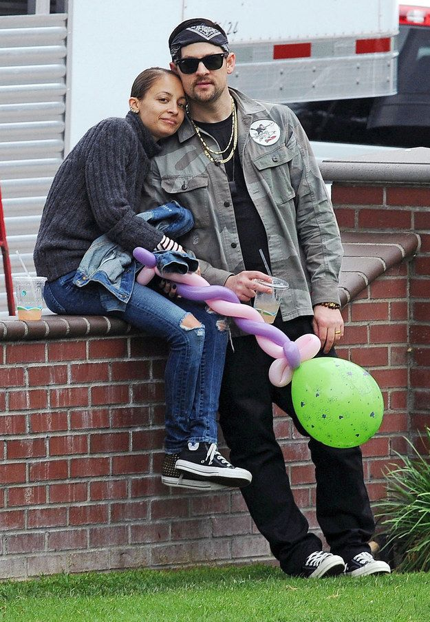 Nicole Richie & Joel Madden | 18 Of Hollywood's Most Adorable Couples