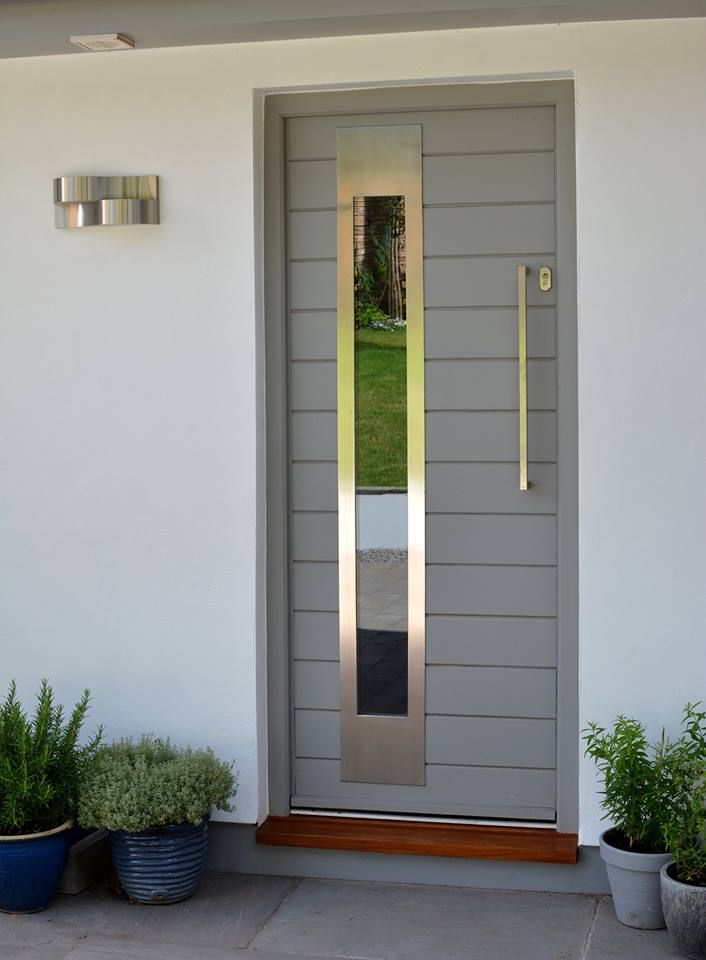 Front Door painted in Little Greene's 'Lead Colour' sent in by Haydon and Son…