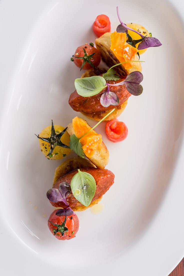Colourful food from 50 Bistro at The George