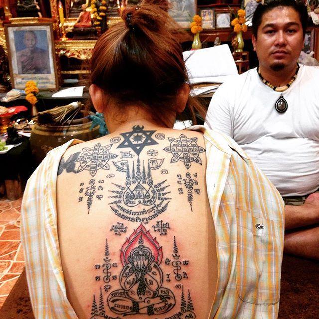 Best 25 traditional thai tattoo ideas on pinterest for Sak yant tattoo rules