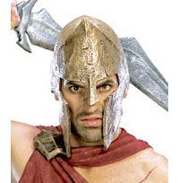 Deluxe 300 Spartan casque - 300 Costumes Animation
