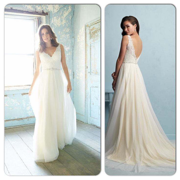 Fine Discontinued Allure Bridal Gowns Pictures - Dress Ideas For ...