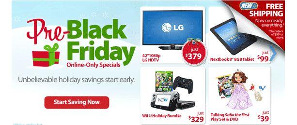 LG Black Friday TV Deals featured in Walmart Pre Black Friday Sale - I4U News