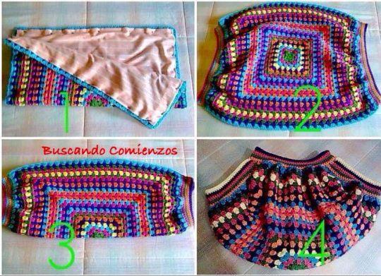 Bolso Balón 1ª parte. Striped Bag