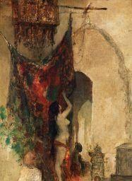 Attributed to Henri-Victor Regnault AU HAREM oil on canvas  65 x 42cm