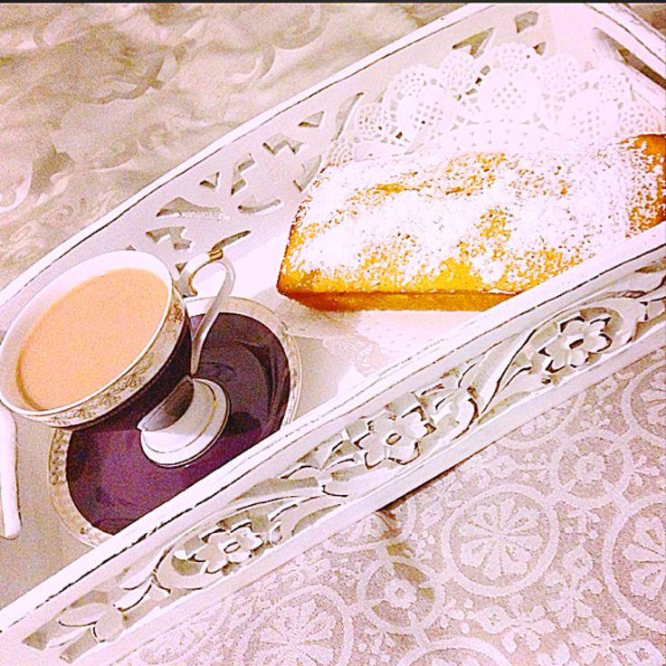 Tea time cardamom loaf ☕️