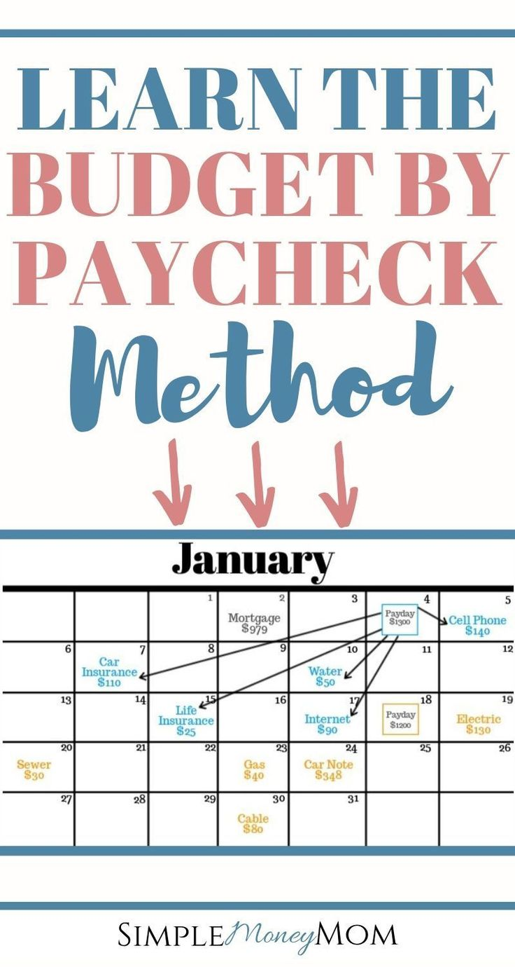 How to Budget by Paycheck and Finally Gain Control of Your Money Learn this uniq…