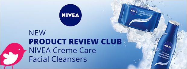 New+Product+Review+Club+Offer:+NIVEA+Creme+Care+Facial+Cleansers