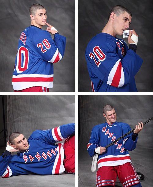 Chris Kreider • New York Rangers • WTF