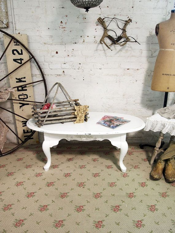 Painted Cottage Chic Shabby White Coffee Table by paintedcottages, $165.00: Coffee Tables, Cottage Chic, Shabby White, Shabby Chic, Cottages Chic, Paintings Cottages, Country Chic, Chic Shabby, Cottages Coff