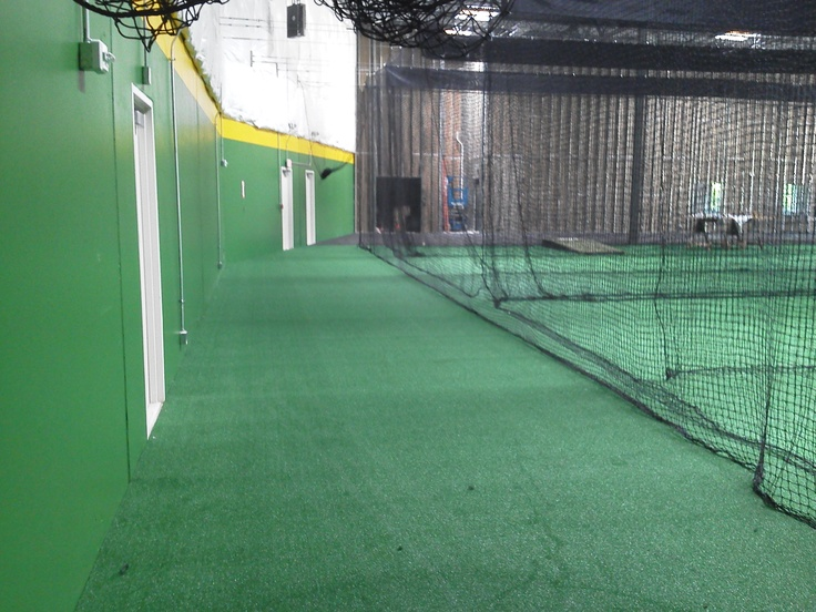 17 best images about indoor batting cage on pinterest for Design indoor baseball facility