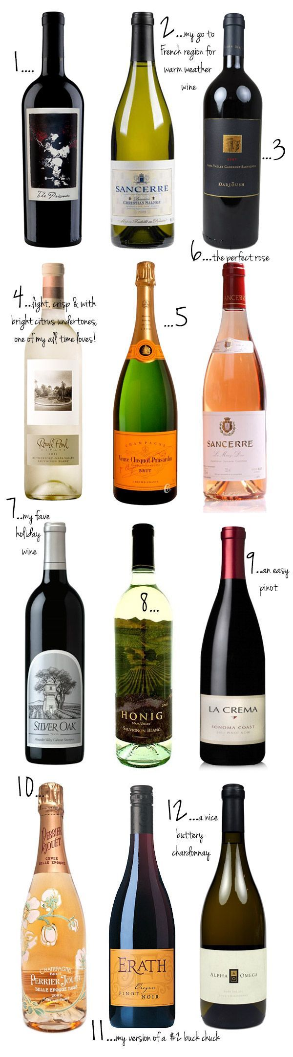Top wine and champagne picks. Yes, the prisoner is that good.