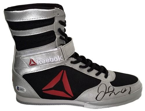Floyd Mayweather Jr Signed Right Reebok Limited Edition Boxing Shoe Beckett BAS