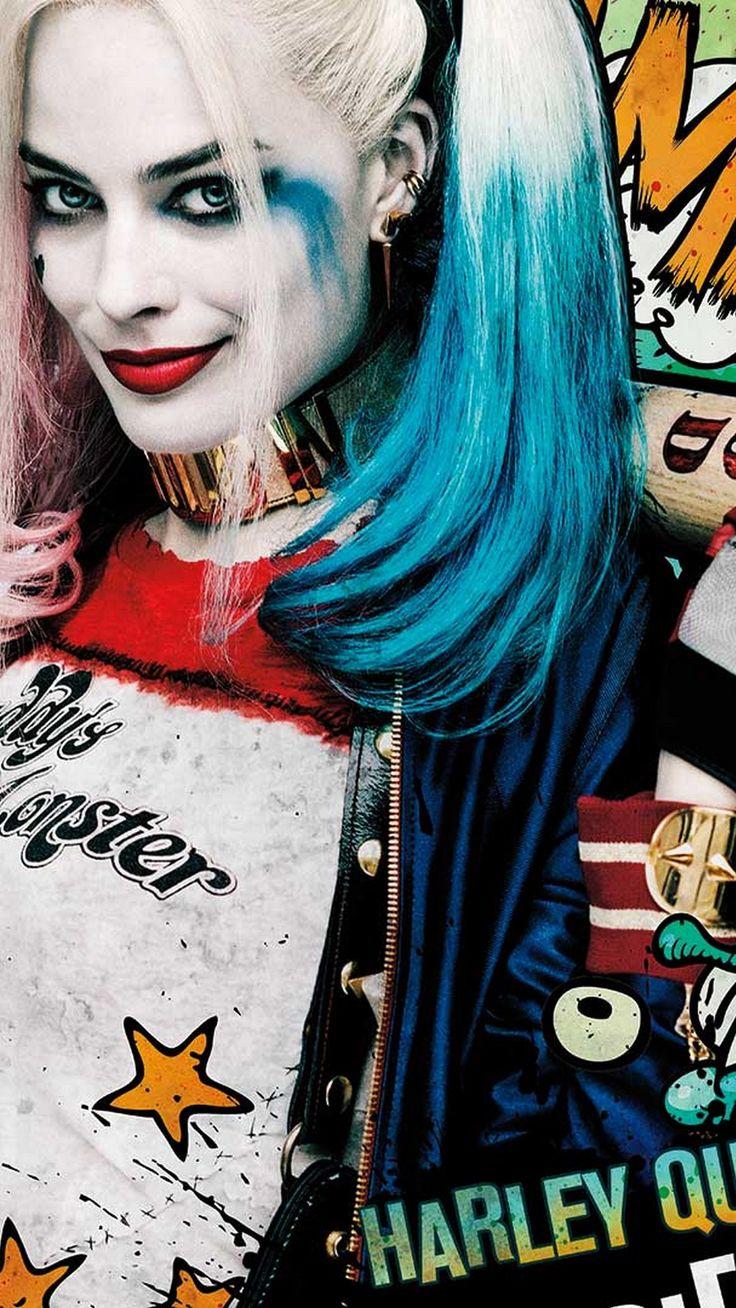 iPhone Wallpaper HD Harley Quinn Movie | Best Wallpaper HD