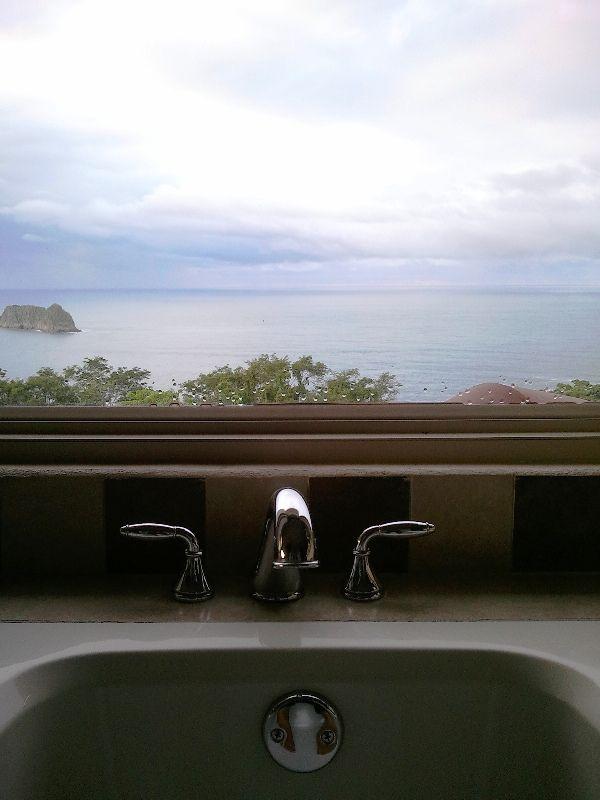 Bathtub with a view at Parador Resort and Spa, Quepos, Costa Rica