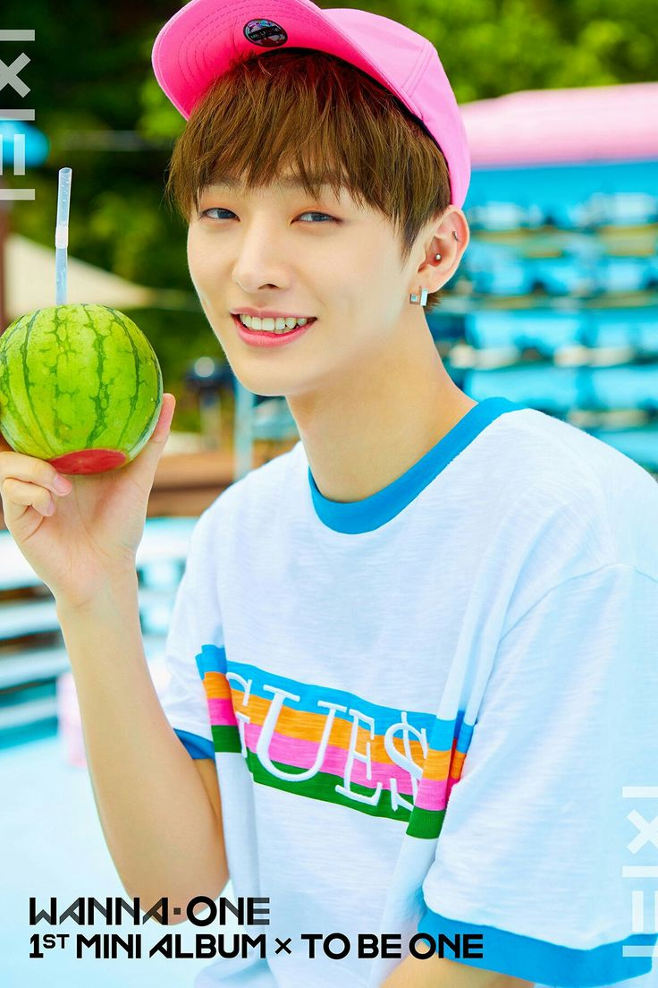 Wanna One 1×1=1 1st Mini Album × To Be One  Yoon Jisung  Pink ver.