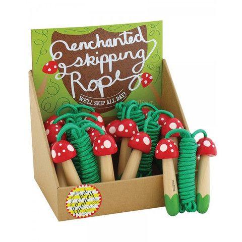 Seedling Mushroom Skipping Rope – Butterfly Garden (for kids!)