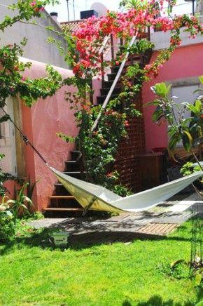 Alfama Patio Hostel in Lisbon, best summer hostels