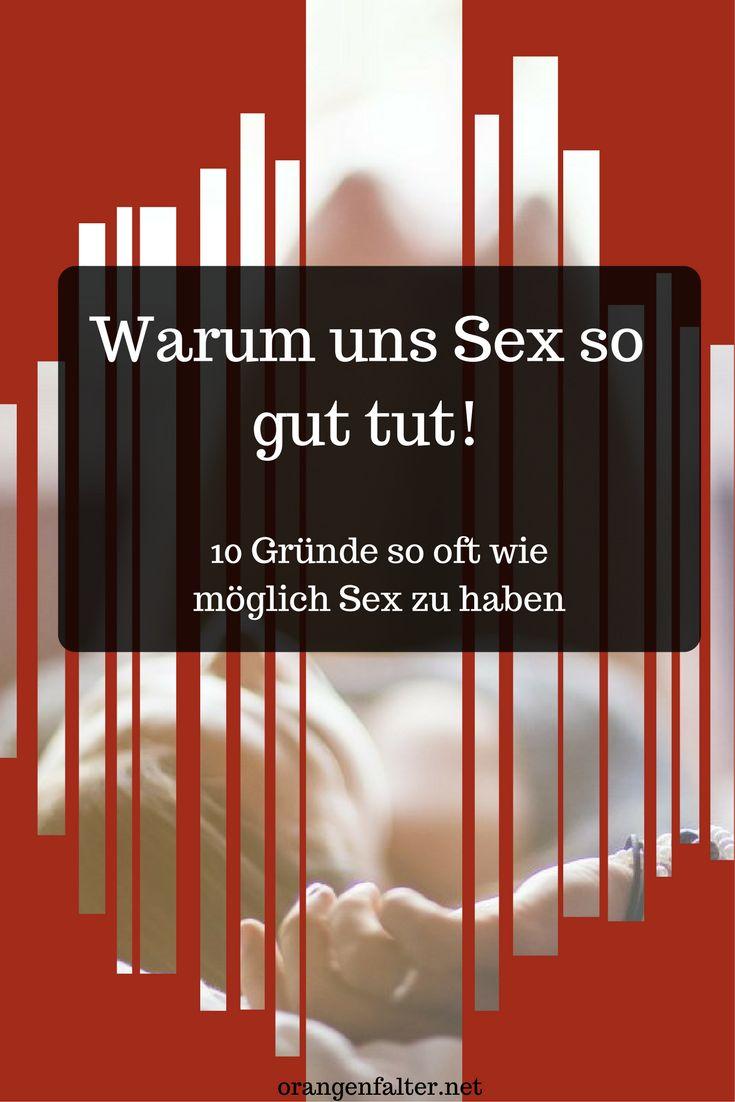 Ja, Sex macht gesund :) Hier sind 10 Gründe für mehr Zeit zu zweit!