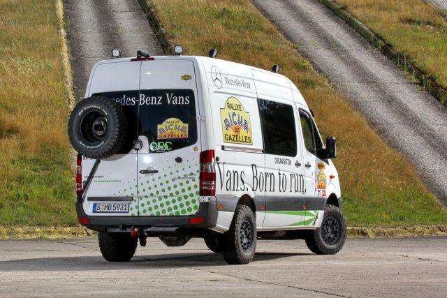 Rallye-Servicefahrzeug Mercedes-Benz Sprinter 316 CDi 4x4 KaWa: Die dicke Berta für alle Fälle! - Auto der Woche - Mercedes-Fans - Das Magazin für Mercedes-Benz-Enthusiasten