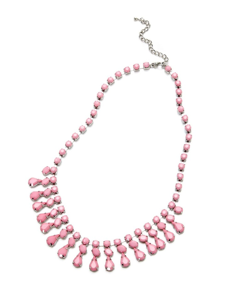 short stone statement necklace, Addition Elle, plus size, fashion, trends   #AdditionElleOntheRoad