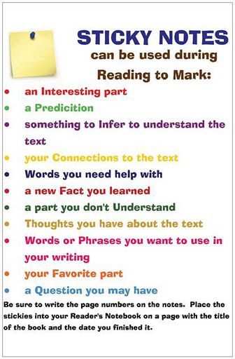 80 best images about Active Reading Strategies on Pinterest - note taking template word