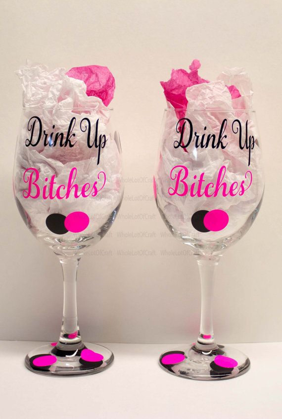 Best Images About Wedding Glasses Wall Decals And - Wine glass custom vinyl stickers