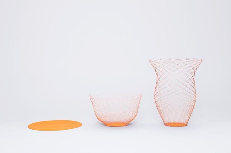 The orange x purple airvases