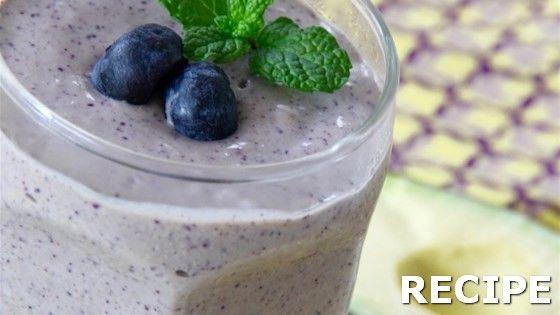 Avocado Blueberry Smoothie Recipe Recipe : #Avocado #Blueberry #Smoothie #Recipe…
