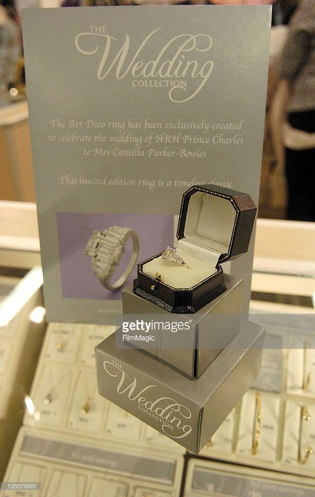 ASDA unveils a copy of Camilla Parker Bowles' engagement ring