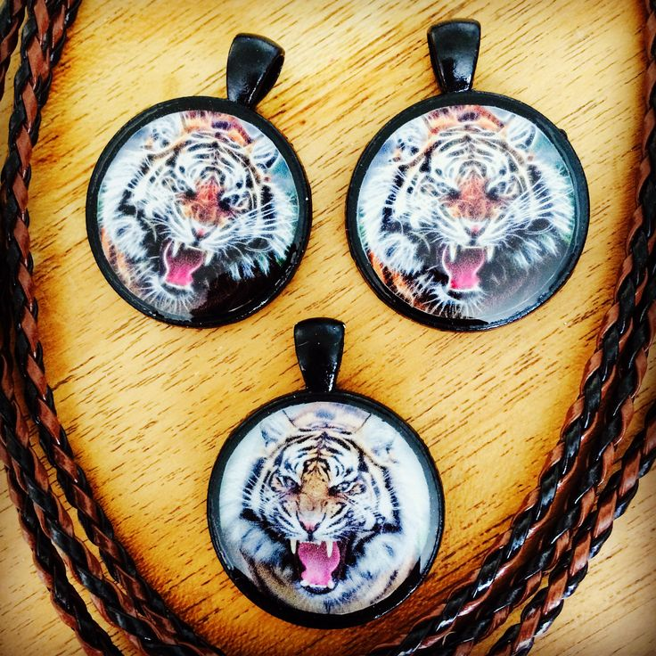 Poxierocks resin tiger