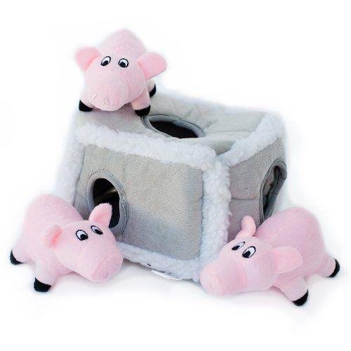 ZippyPaws Burrow Squeaky Hide and Seek Plush Dog Toy, Pig... https://smile.amazon.com/dp/B00D8PF0RW/ref=cm_sw_r_pi_dp_x_hYBjzbT7HZQNP
