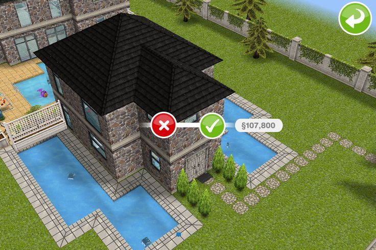 97 best images about sims freeplay homes on pinterest for Sims 4 exterior design