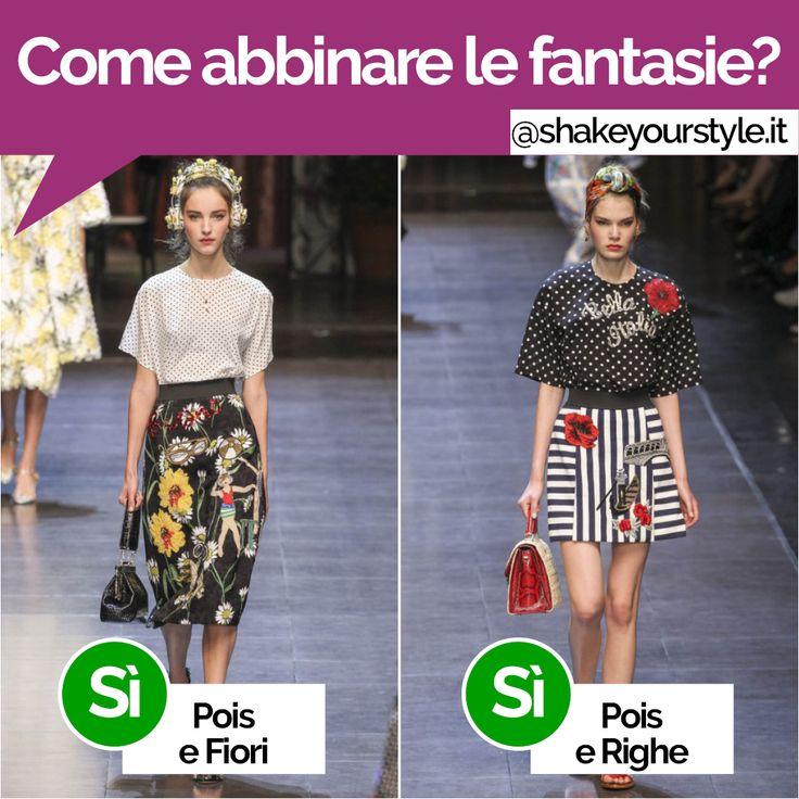 Alla sfilata Primavera/Estate 2016 di Dolce&Gabbana non solo selfie ma anche tante stampe e fantasie! Tu sai come abbinarle?  Alcuni consigli: 1. Inizia con fantasie piccole o medie 2. Scegli delle color combination o completamente calde oppure tutte fredde. Più consigli su: http://www.shakeyourstyle.it/