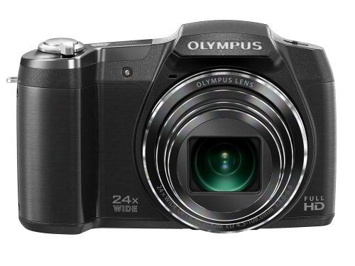 Olympus Stylus SZ-17 Digital Camera with 24x Optical Image Stabilized Zoom with 3-Inch LCD (Black) | Your #1 Source for Camera, Photo & Video