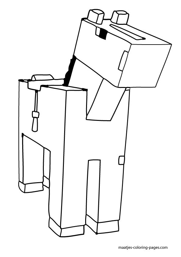 youtube minecraft coloring pages - photo#17