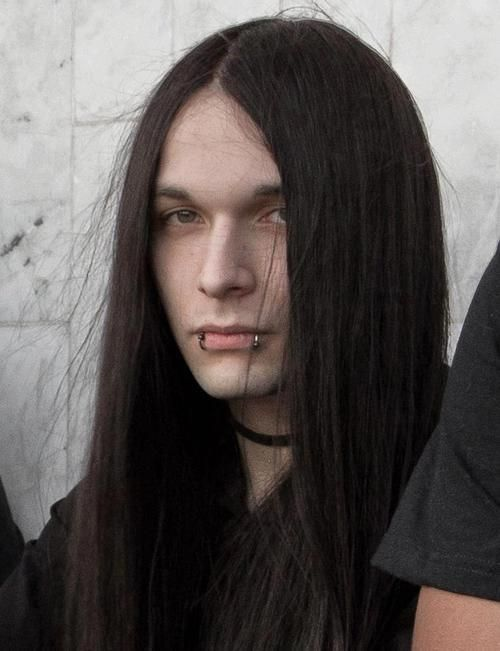 man with long hair ideas
