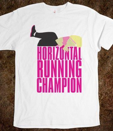 Horizontal Running Champion Shirt i want one!!!!