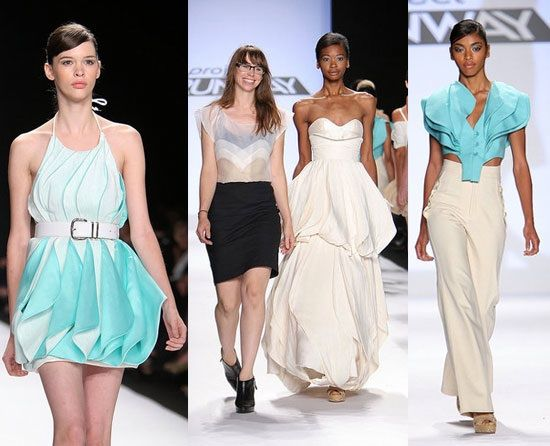 Project Runway Catwalk.  (Market your Fashion designs online. Get a professional website FREE: http://freewebsitereview.webgo.cc)
