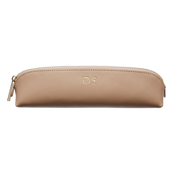 Taupe Pencil Case   The Daily Edited