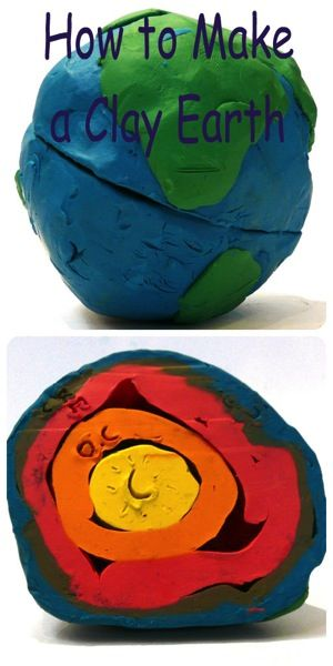 Making a 3D model is an easy hands-on way for kids to learn what the Earth is…