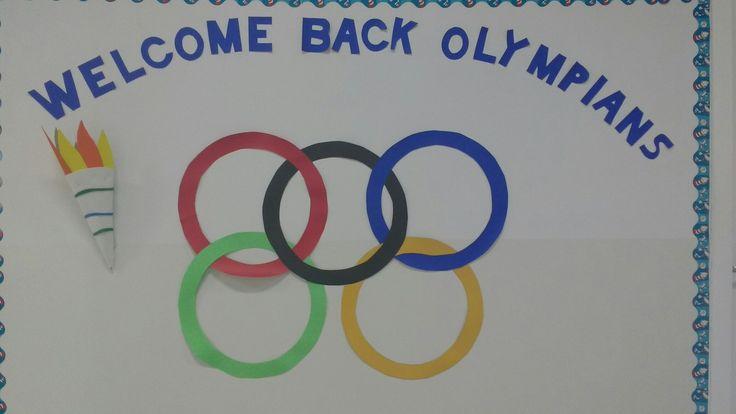 Decoração olimpíadas