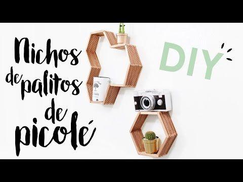 DIY Nichos com Palitos de Picolé  | Compra-se Um Fusca | Moda, decoração e lifestyle.