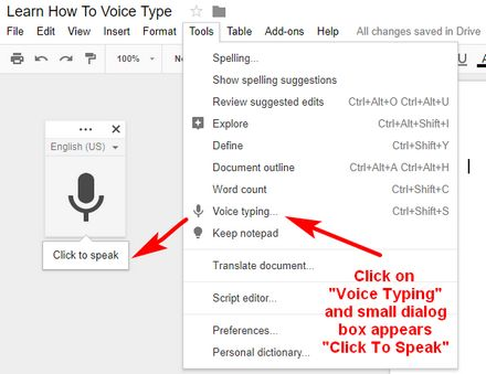 """Google Docs is a very powerful word processor that is available (for FREE) to anyone who has a Google (Gmail) Account. One feature in Google Docs that you may be interested in trying is the """"…"""