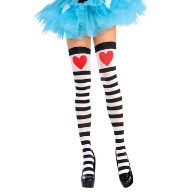 Queen of Heart style stockings